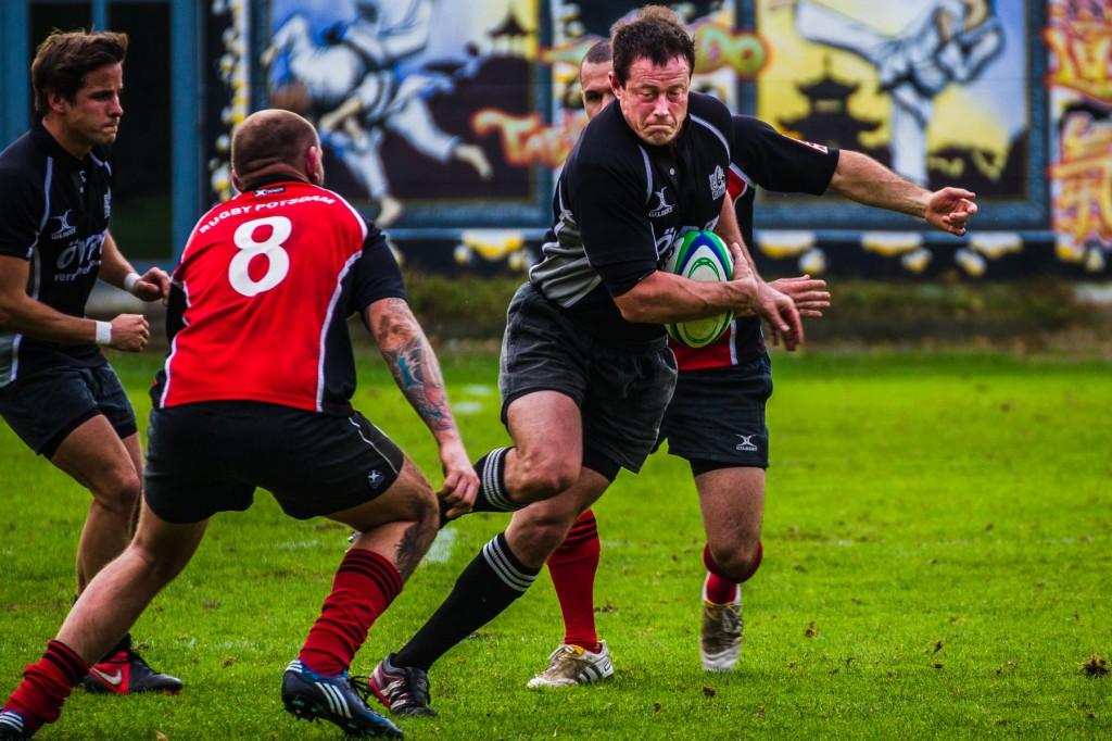 Rugby - Bremen 1860 vs. SG Grizzlies/Potsdam: Stürmer Jason Edw